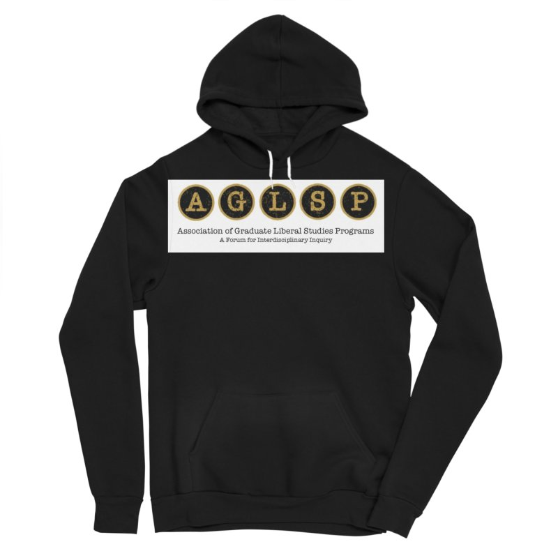 AGLSP New Logo, 2019 Men's Sponge Fleece Pullover Hoody by AGLSP's Swag Shoppe