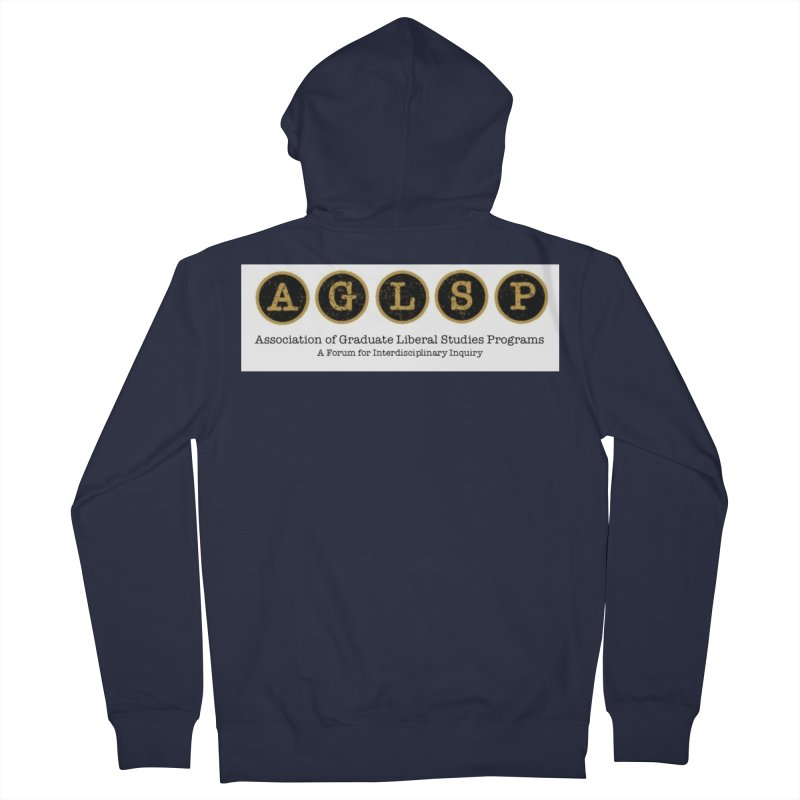 AGLSP New Logo, 2019 Women's French Terry Zip-Up Hoody by AGLSP's Swag Shoppe