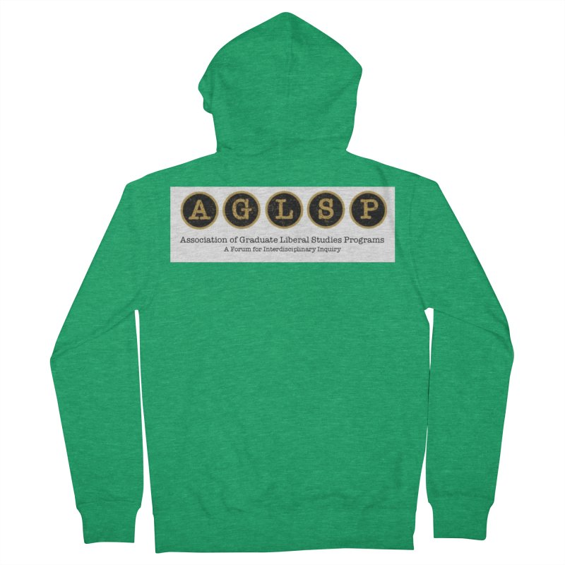 AGLSP New Logo, 2019 Men's Zip-Up Hoody by AGLSP's Swag Shoppe