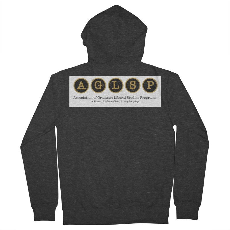 AGLSP New Logo, 2019 Men's French Terry Zip-Up Hoody by AGLSP's Swag Shoppe