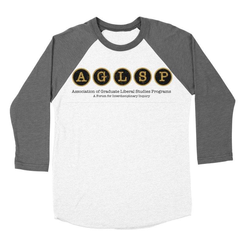 AGLSP New Logo, 2019 Men's Baseball Triblend Longsleeve T-Shirt by AGLSP's Swag Shoppe