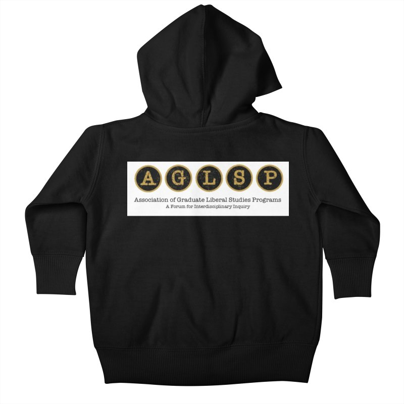AGLSP New Logo, 2019 Kids Baby Zip-Up Hoody by AGLSP's Swag Shoppe