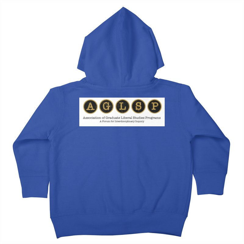 AGLSP New Logo, 2019 Kids Toddler Zip-Up Hoody by AGLSP's Swag Shoppe