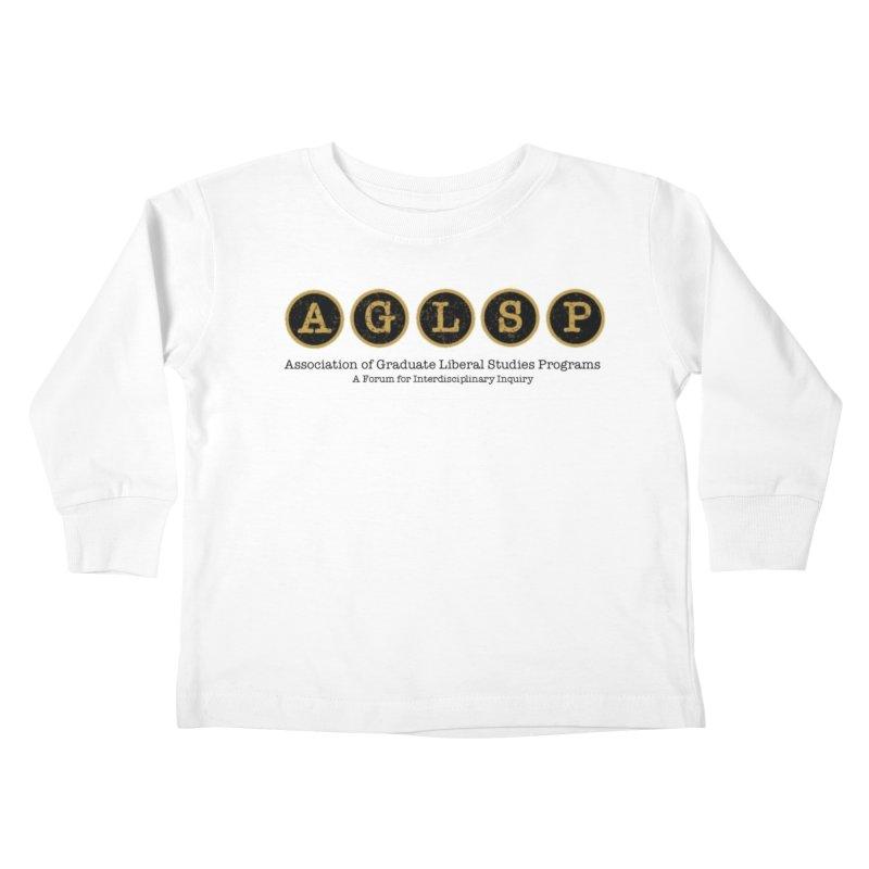 AGLSP New Logo, 2019 Kids Toddler Longsleeve T-Shirt by AGLSP's Swag Shoppe