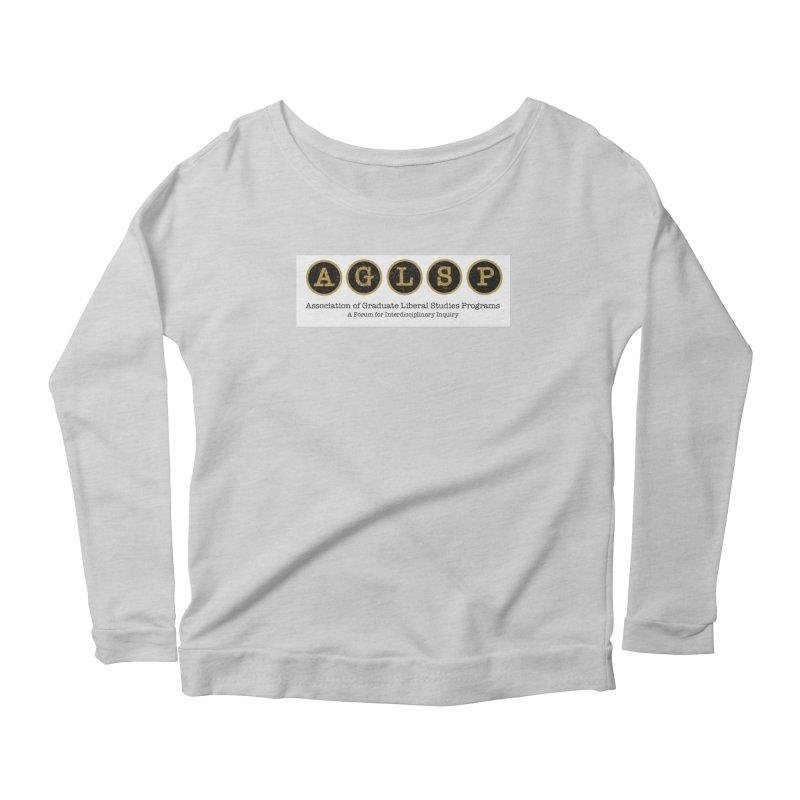 AGLSP New Logo, 2019 Women's Scoop Neck Longsleeve T-Shirt by AGLSP's Swag Shoppe