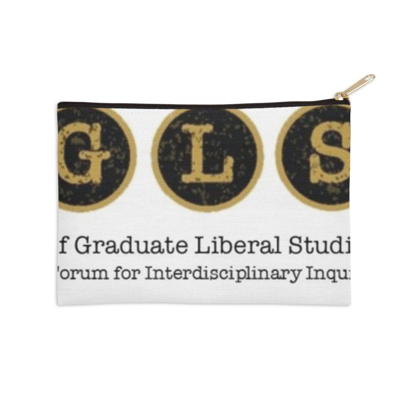 AGLSP New Logo, 2019 Accessories Zip Pouch by AGLSP's Swag Shoppe
