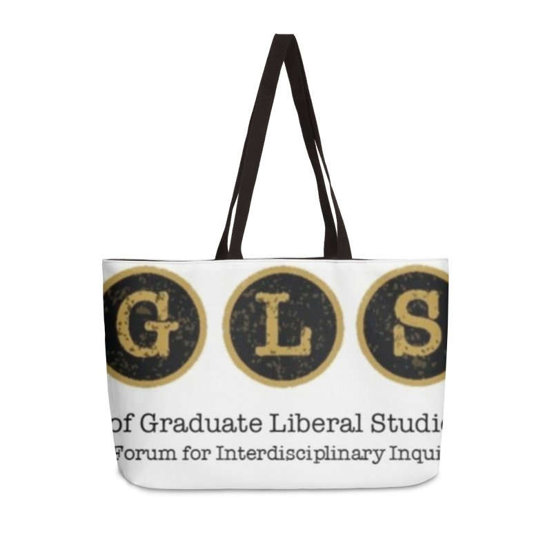 AGLSP New Logo, 2019 Accessories Weekender Bag Bag by AGLSP's Swag Shoppe