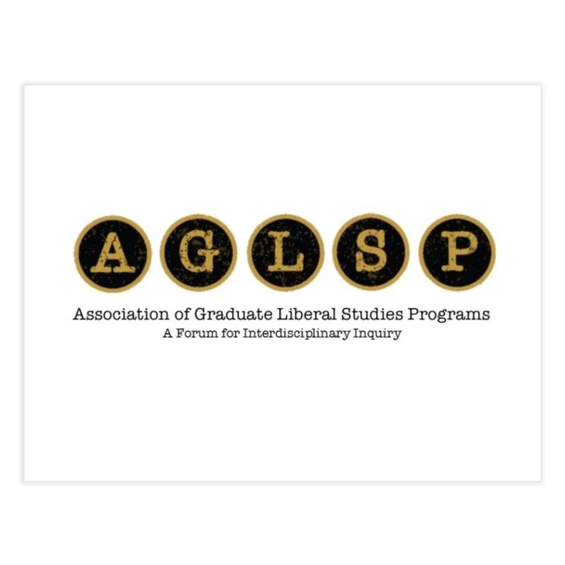 AGLSP New Logo, 2019 Home Fine Art Print by AGLSP's Swag Shoppe