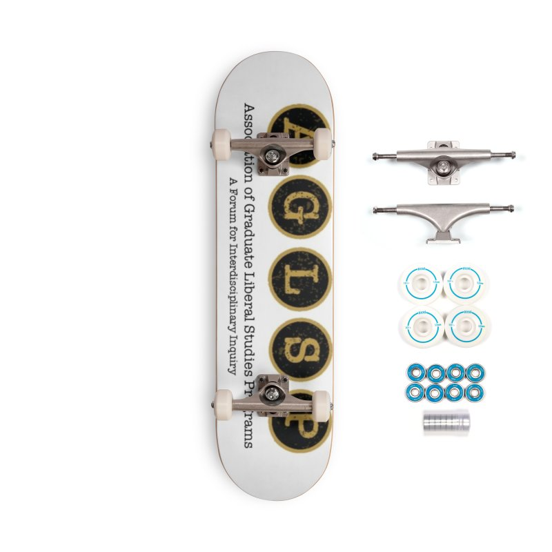 AGLSP New Logo, 2019 Accessories Complete - Basic Skateboard by AGLSP's Swag Shoppe