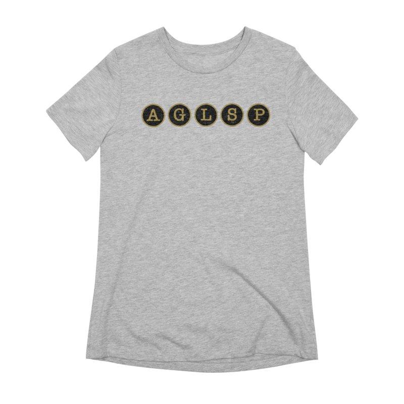 AGLSP Logo Sans Tagline Women's Extra Soft T-Shirt by AGLSP's Swag Shoppe