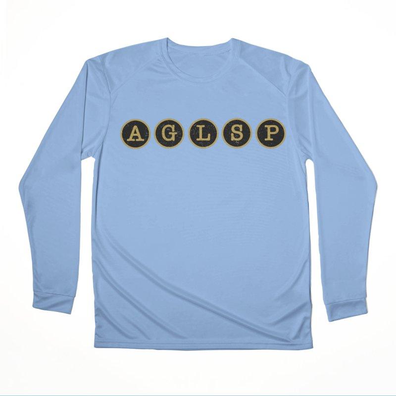 AGLSP Logo Sans Tagline Men's Longsleeve T-Shirt by AGLSP's Swag Shoppe