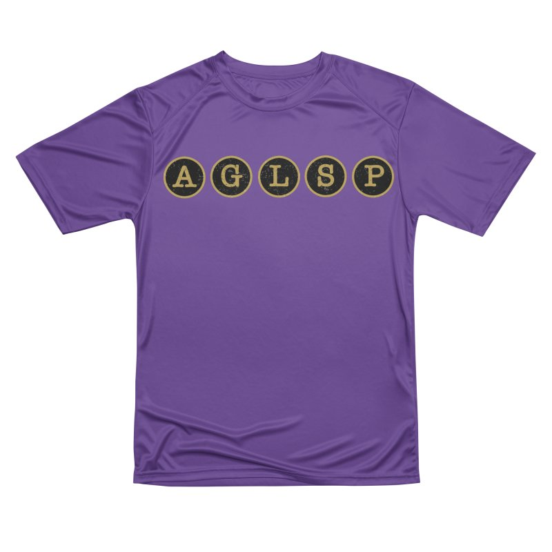 AGLSP Logo Sans Tagline Women's Performance Unisex T-Shirt by AGLSP's Swag Shoppe
