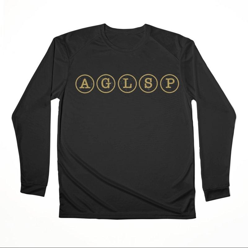 AGLSP Logo Sans Tagline Men's Performance Longsleeve T-Shirt by AGLSP's Swag Shoppe