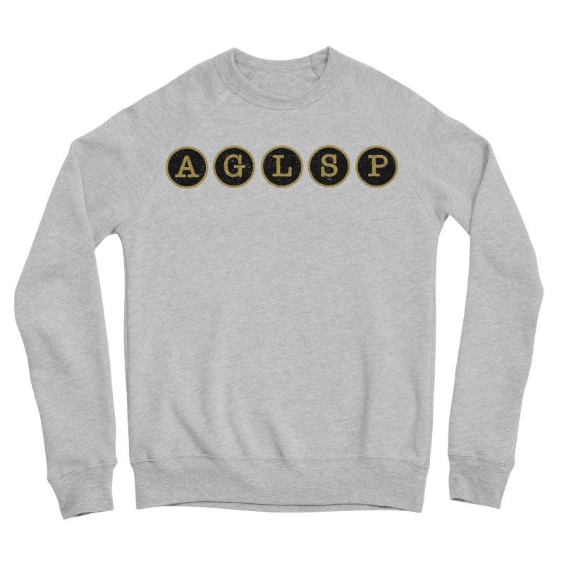 AGLSP Logo Sans Tagline Women's Sponge Fleece Sweatshirt by AGLSP's Swag Shoppe