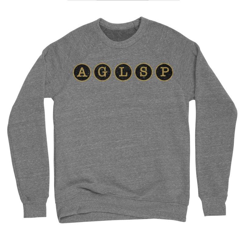 AGLSP Logo Sans Tagline Men's Sponge Fleece Sweatshirt by AGLSP's Swag Shoppe