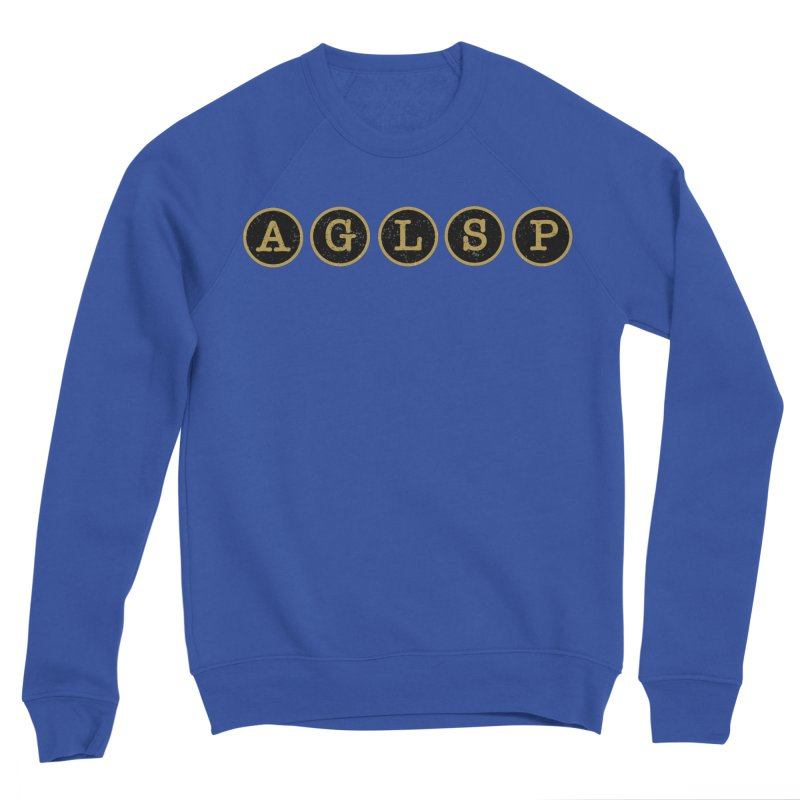 AGLSP Logo Sans Tagline Men's Sponge Fleece Sweatshirt by AGLSP's Swag Shoppe