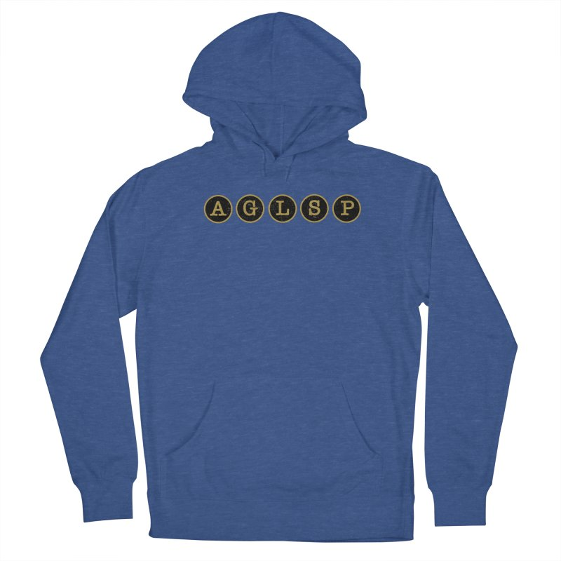 AGLSP Logo Sans Tagline Men's French Terry Pullover Hoody by AGLSP's Swag Shoppe