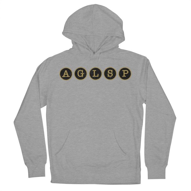 AGLSP Logo Sans Tagline Women's French Terry Pullover Hoody by AGLSP's Swag Shoppe