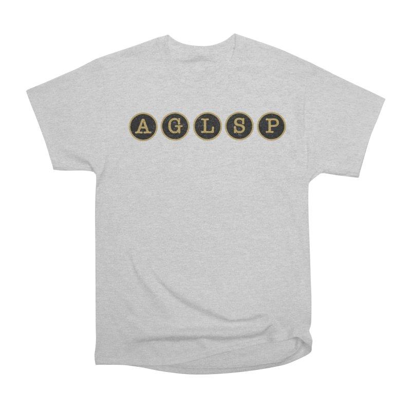 AGLSP Logo Sans Tagline Women's Heavyweight Unisex T-Shirt by AGLSP's Swag Shoppe