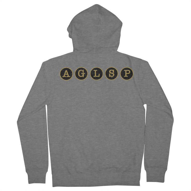 AGLSP Logo Sans Tagline Women's French Terry Zip-Up Hoody by AGLSP's Swag Shoppe