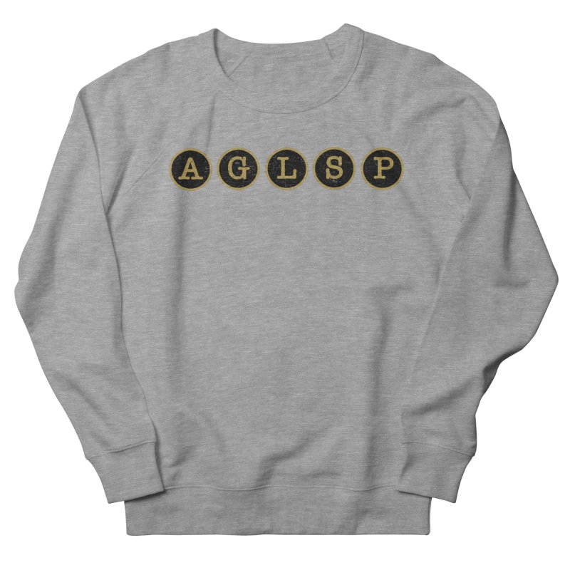 AGLSP Logo Sans Tagline Women's French Terry Sweatshirt by AGLSP's Swag Shoppe