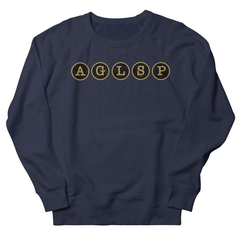 AGLSP Logo Sans Tagline Men's French Terry Sweatshirt by AGLSP's Swag Shoppe