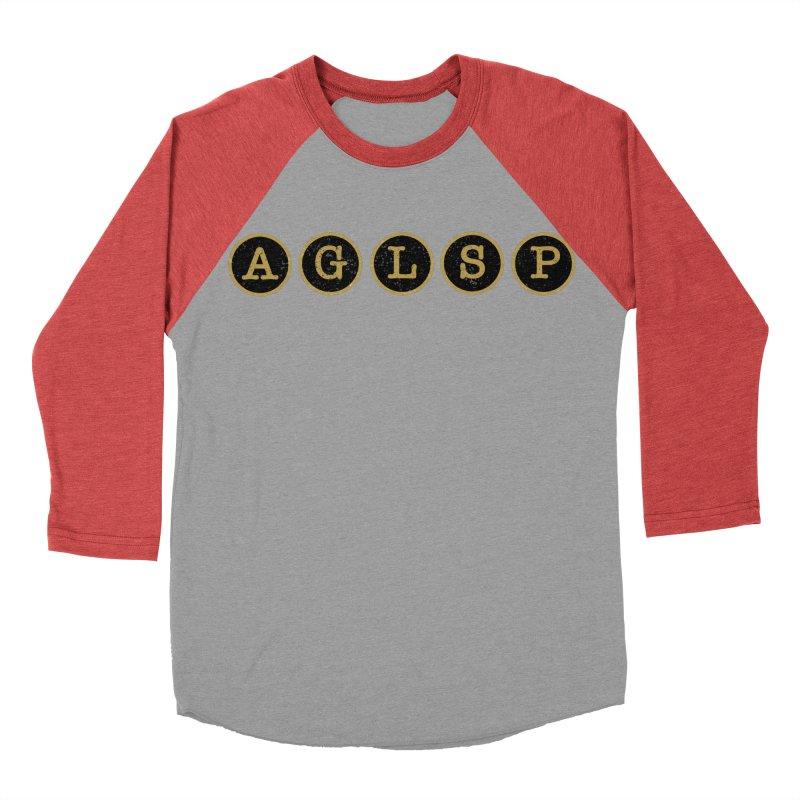 AGLSP Logo Sans Tagline Women's Baseball Triblend Longsleeve T-Shirt by AGLSP's Swag Shoppe