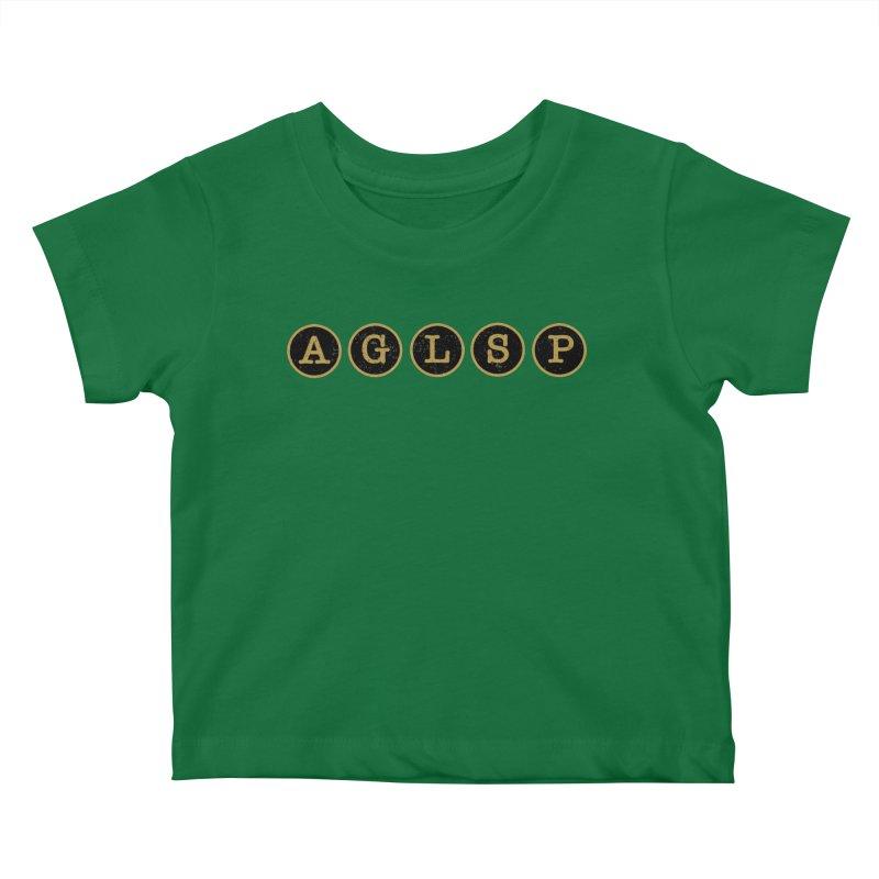 AGLSP Logo Sans Tagline Kids Baby T-Shirt by AGLSP's Swag Shoppe