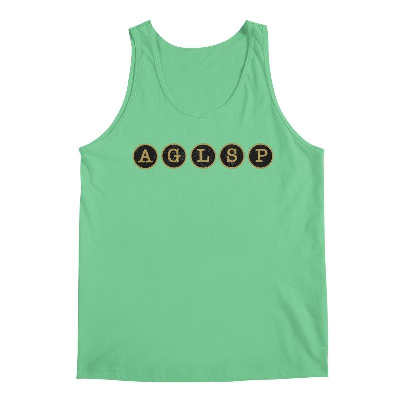 AGLSP Logo Sans Tagline Men's Regular Tank by AGLSP's Swag Shoppe
