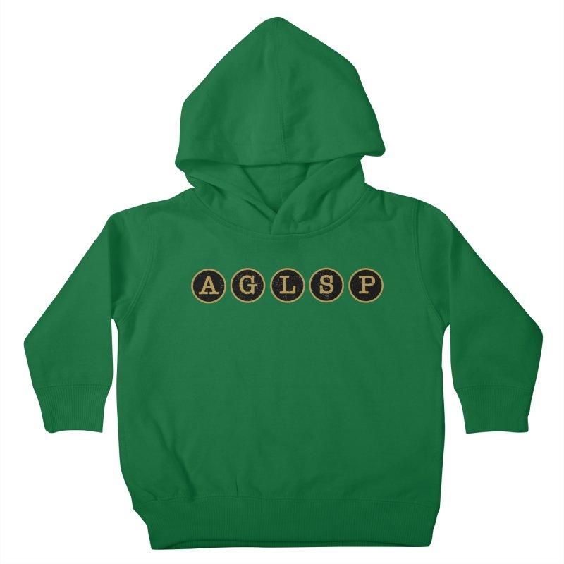 AGLSP Logo Sans Tagline Kids Toddler Pullover Hoody by AGLSP's Swag Shoppe