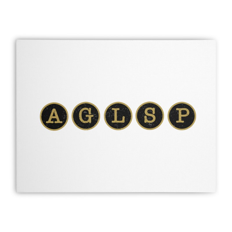 AGLSP Logo Sans Tagline Home Stretched Canvas by AGLSP's Swag Shoppe