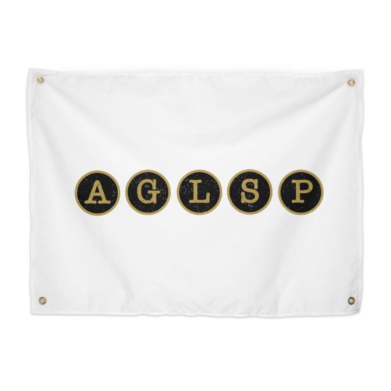 AGLSP Logo Sans Tagline Home Tapestry by AGLSP's Swag Shoppe