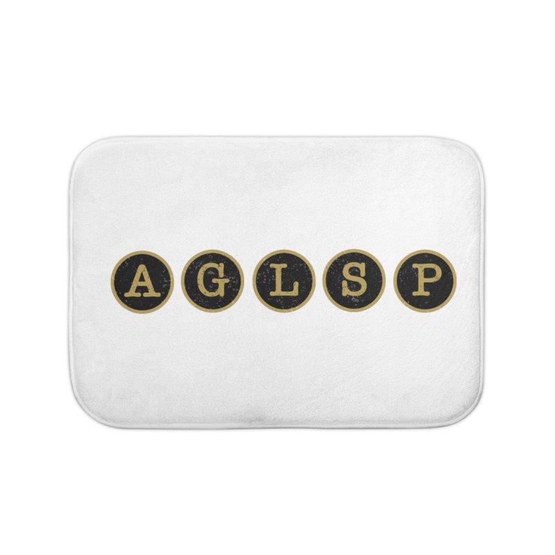 AGLSP Logo Sans Tagline Home Bath Mat by AGLSP's Swag Shoppe
