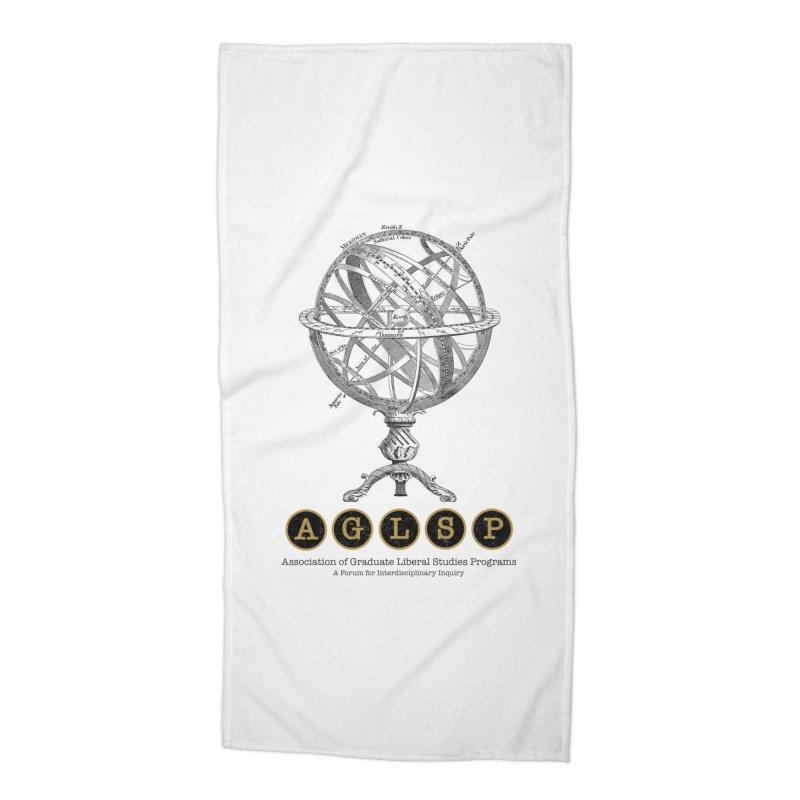 AGLSP Vintage Globe Design Accessories Beach Towel by AGLSP's Swag Shoppe