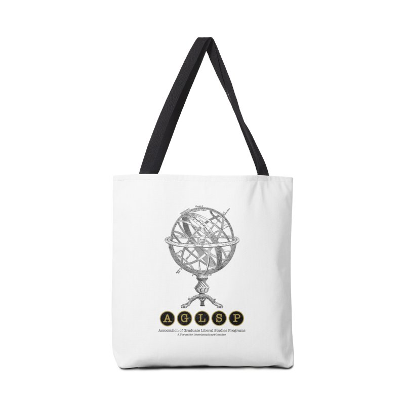 AGLSP Vintage Globe Design Accessories Tote Bag Bag by AGLSP's Swag Shoppe