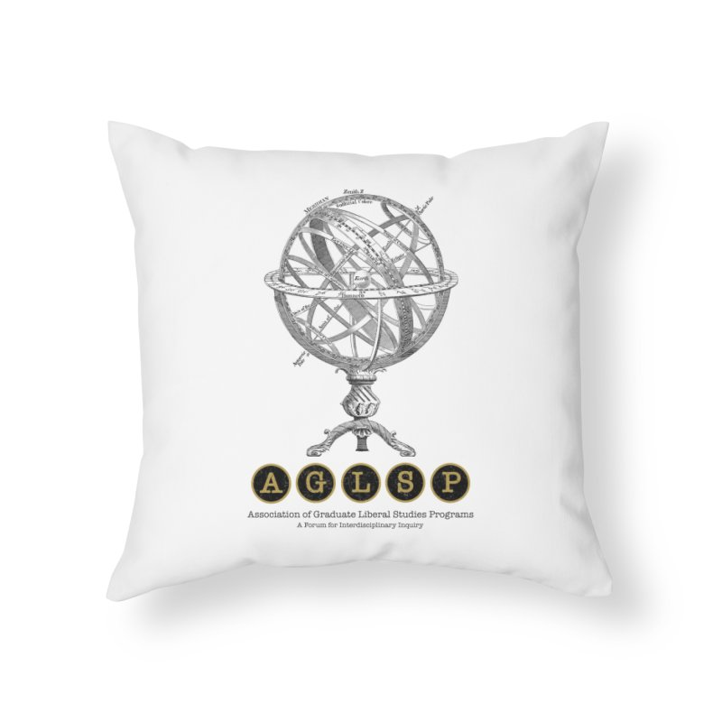 AGLSP Vintage Globe Design Home Throw Pillow by AGLSP's Swag Shoppe