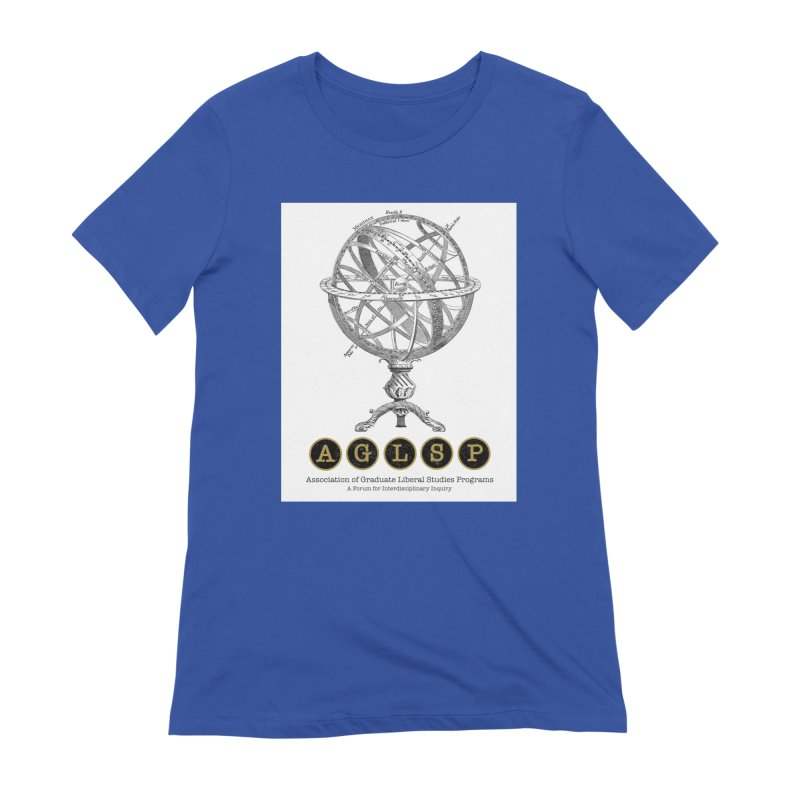 AGLSP Vintage Globe Design Women's Extra Soft T-Shirt by AGLSP's Swag Shoppe