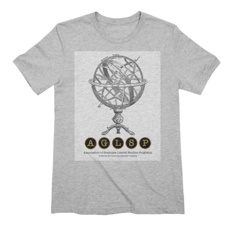 AGLSP Vintage Globe Design Men's Extra Soft T-Shirt by AGLSP's Swag Shoppe