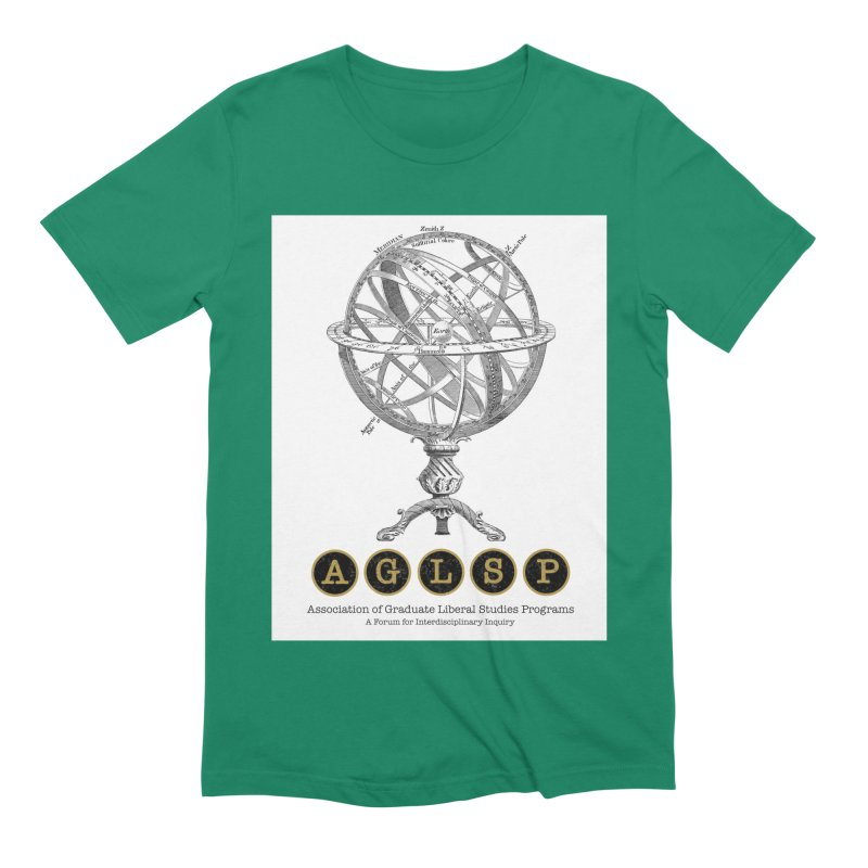 AGLSP Vintage Globe Design Men's Extra Soft T-Shirt by AGLSP's Swag Shoppe