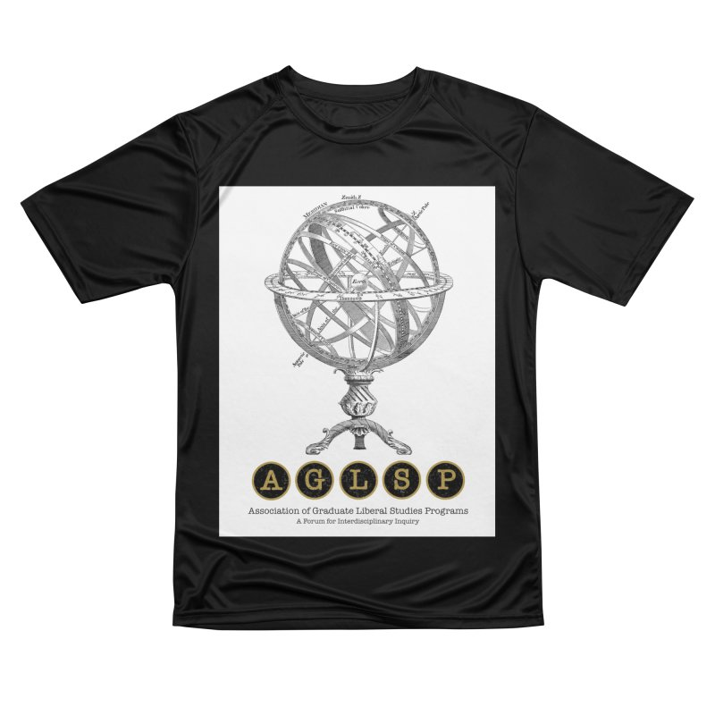 AGLSP Vintage Globe Design Men's Performance T-Shirt by AGLSP's Swag Shoppe