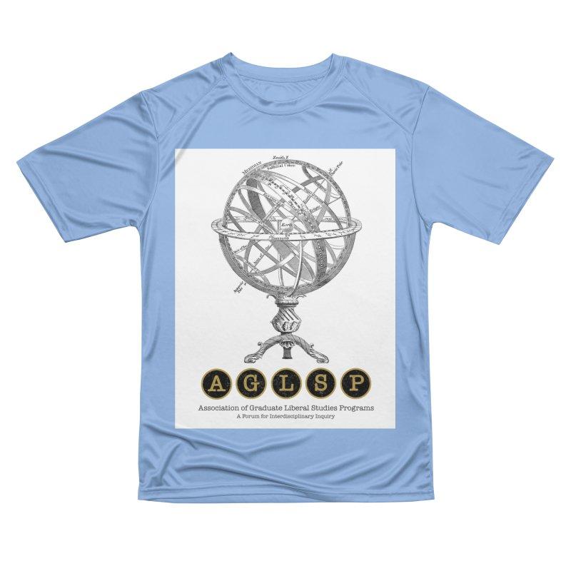 AGLSP Vintage Globe Design Men's Performance T-Shirt by AGLSP's Swag Shoppe