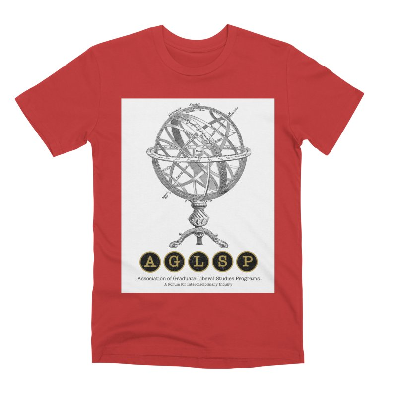 AGLSP Vintage Globe Design Men's Premium T-Shirt by AGLSP's Swag Shoppe