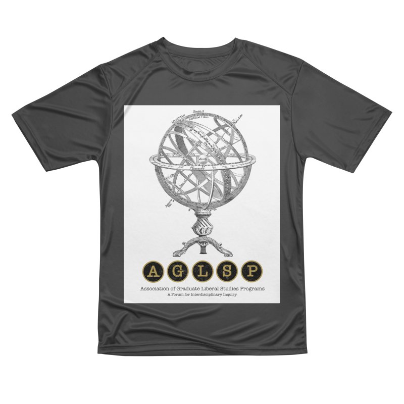 AGLSP Vintage Globe Design Women's Performance Unisex T-Shirt by AGLSP's Swag Shoppe