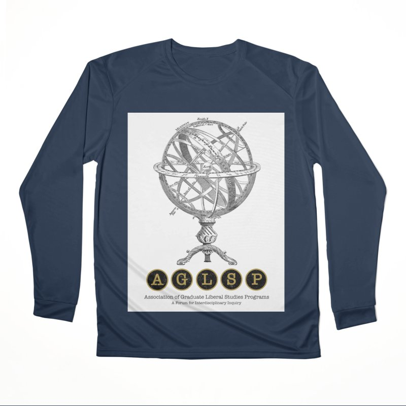 AGLSP Vintage Globe Design Women's Performance Unisex Longsleeve T-Shirt by AGLSP's Swag Shoppe