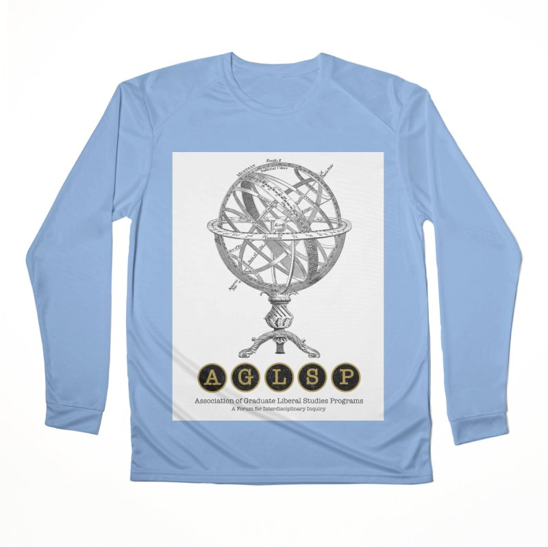 AGLSP Vintage Globe Design Women's Performance Unisex Longsleeve T-Shirt by AGLSP's Swag Shoppe