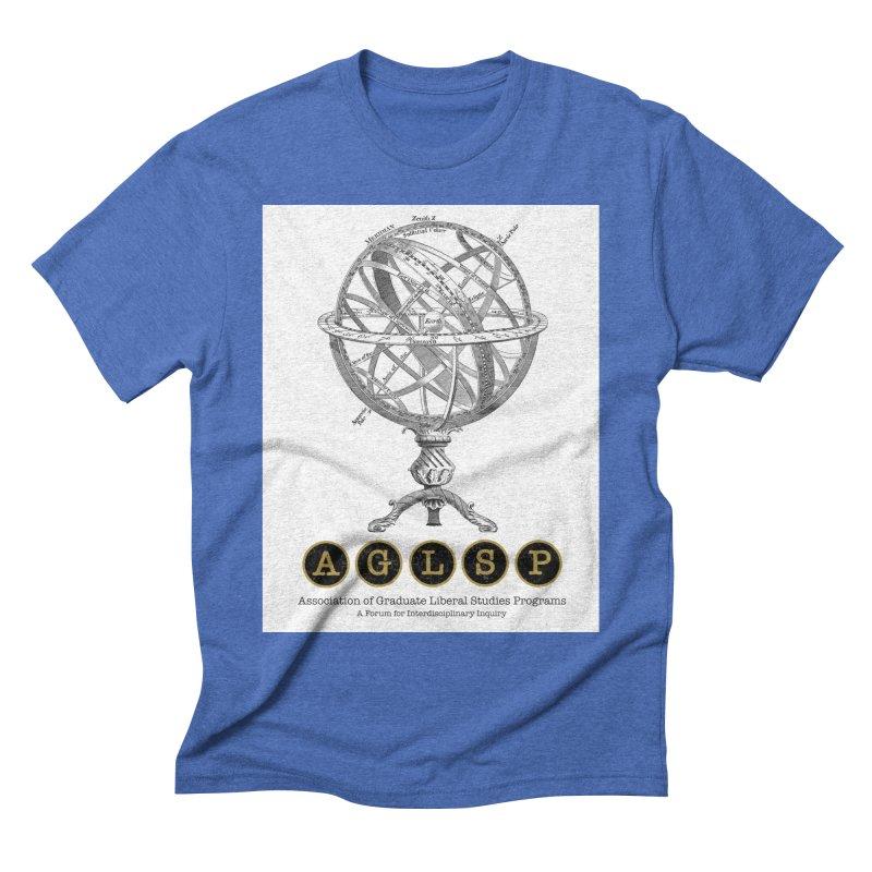 AGLSP Vintage Globe Design Men's T-Shirt by AGLSP's Swag Shoppe