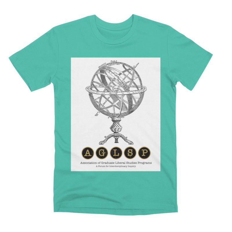 AGLSP Vintage Globe Design Men's Premium T-Shirt by AGLSP's Swag Shoppe