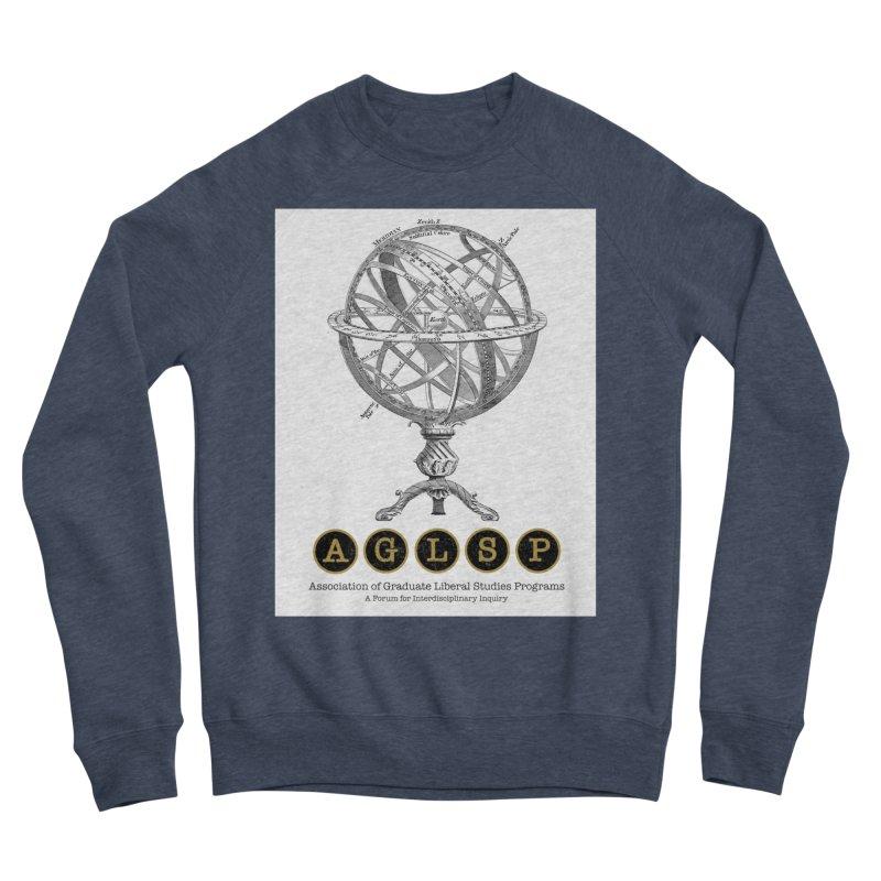 AGLSP Vintage Globe Design Men's Sponge Fleece Sweatshirt by AGLSP's Swag Shoppe