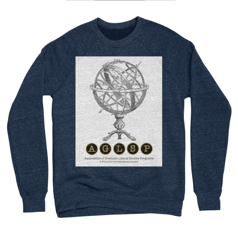 AGLSP Vintage Globe Design Men's Sponge Fleece Sweatshirt by AGLSP's Swag Shoppe