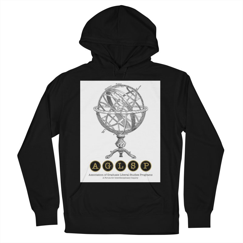 AGLSP Vintage Globe Design Women's French Terry Pullover Hoody by AGLSP's Swag Shoppe